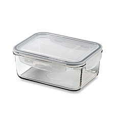 Store N' Lock Rectangular 28.1-Ounce Storage Container