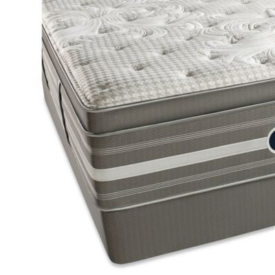 Beautyrest® World Class Evans Oaks Luxury Firm Pillow Top Low Profile Split Queen Mattress Set