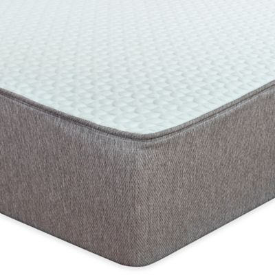 12 Park Elm Plush Hybrid Latex and Gel Memory Foam Twin Mattress
