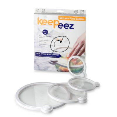 Keepeez™ Vacuum Lids (Set of 4)