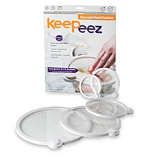 Keepeez™ Vacuum Lids (Set of 5)