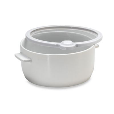 Keepeez™ Vacuum-Sealed 3-Quart Round Food Storage Bowl with Lid