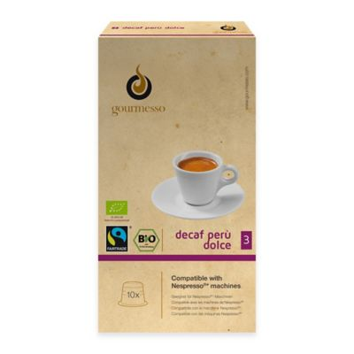 gourmesso 10-Count Decaf Peru Dolce