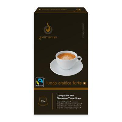 gourmesso 10-Count Lungo Arabic Forte Nespresso® Compatible Espresso Capsules