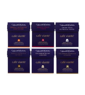 Spressoluxe® 60-Count Nespresso® Compatible Signature Gourmet Coffee Capsules Variety Pack