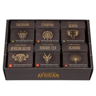 Spressoluxe® 60-Count Nespresso® Compatible African Capsules Variety Pack