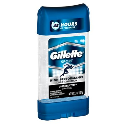 Gillette® Sport 3.8 oz. Clear Gel Antiperspirant Deodorant in Undefeated