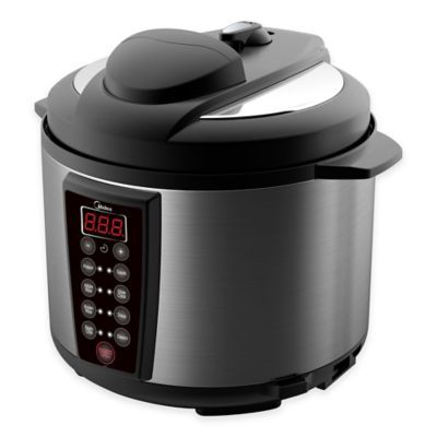 Black/Silver Pressure Cookers