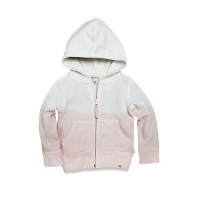 Burt's Bees Baby® Size 2T Organic Dip Dye Hoodie in Blossom