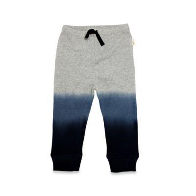 Burt's Bees Baby® Size 6-9M Dip Dye Pant in Grey/Blue