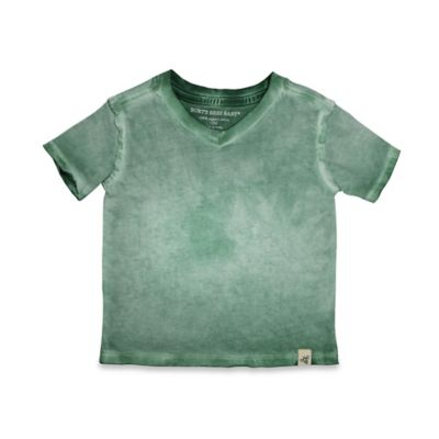 Burt's Bees Baby® Size 0-3M Sun-Bleached Logo Shirt in Green