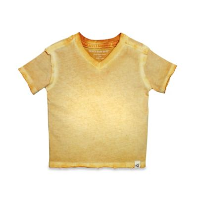 Burt's Bees Baby® Size 0-3M Sun-Bleached Logo Shirt in Orange