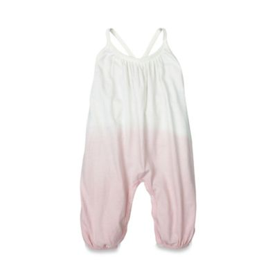 Burt's Bees Baby® Size 18M Organic Dip Dye Coverall in Blossom