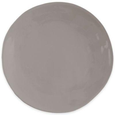 Artisanal Kitchen Supply™ Curve Round Serving Platter in Grey
