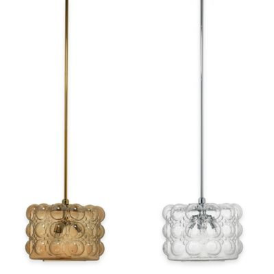 Jamie Young Cici Small 1-Light Pendant in Blue