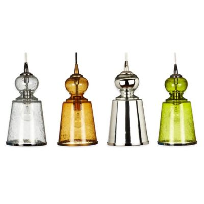 Jamie Young Lafitte 1-Light Pendant Lamp in Mercury