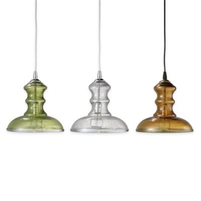 Jamie Young St. Croix 1-Light Pendant Lamp in Celadon