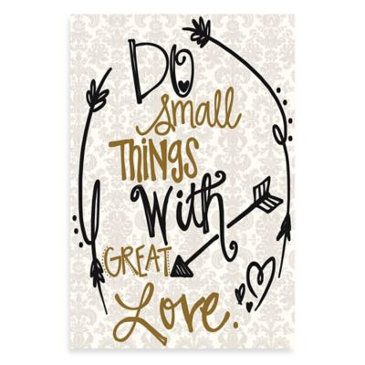 Great Love Damask Wall Art