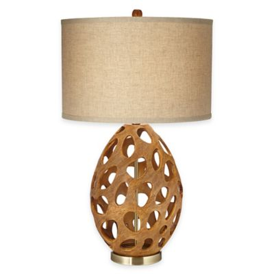 Pacific Coast Lighting Luna Table Lamp in Oak
