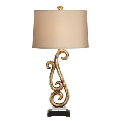 Pacific Coast® Lighting Kathy Ireland Home® French Fountain Table Lamp in Antique Gold