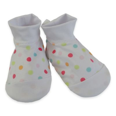 Rising Star™ Infant Swim Sock in White