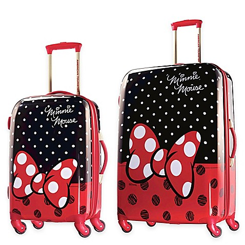 Disney 174 4 Wheel Spinner Suitcase From American Tourister