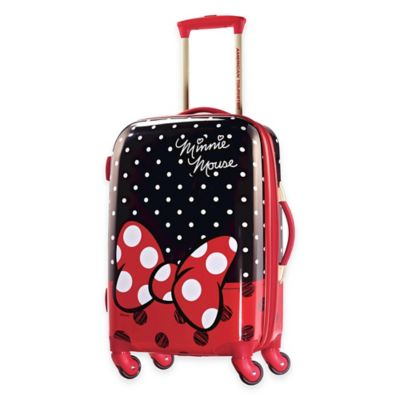 Disney® Minnie Red Bow 21-Inch 4-Wheel Carry On Spinner Suitcase from American Tourister®