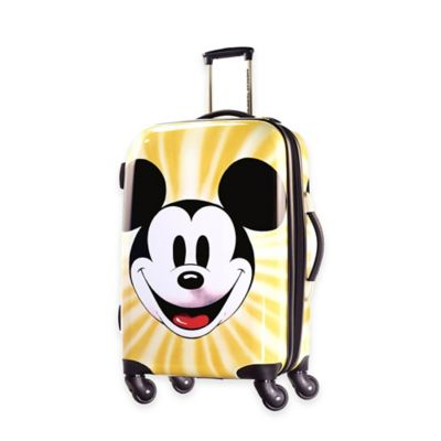Disney® Mickey Face 28-Inch 4-Wheel Spinner Suitcase from American Tourister®