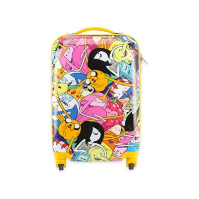 Adventure Time Crew 22-Inch Hardcase Spinner Luggage