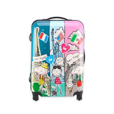 Hablando Sola Journey Around the World 22-Inch Hardcase Spin Luggage
