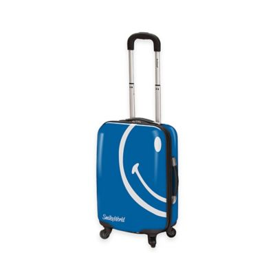 Smiley World Wink 22-Inch Hardcase Luggage in Blue