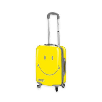 Smiley World Wink 22-Inch Hardcase Luggage in Yellow