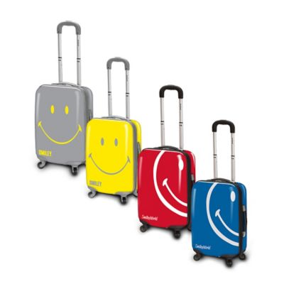 Smiley World Wink 26-Inch Hardcase Luggage in Blue