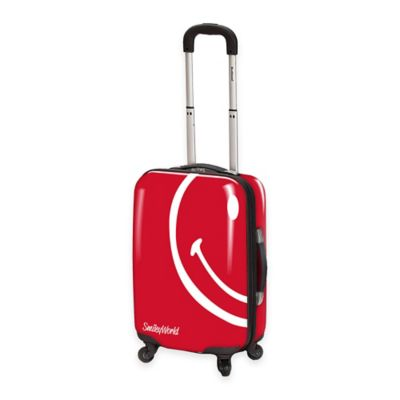 Smiley World Wink 26-Inch Hardcase Luggage in Red