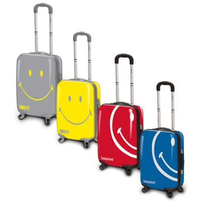 Smiley World Wink 30-Inch Hardcase Luggage in Red