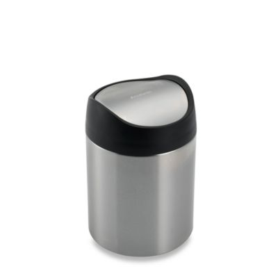 simplehuman® Countertop 1 1/2-Liter Trash Can