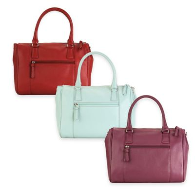 Hadaki® Valeria Satchel in Plum