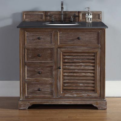 James Martin Savannah 35.5-Inch Single Vanity Cabinet in Driftwood
