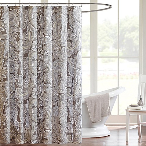 Madison Park Pure Ronan Shower Curtain Bed Bath Amp Beyond