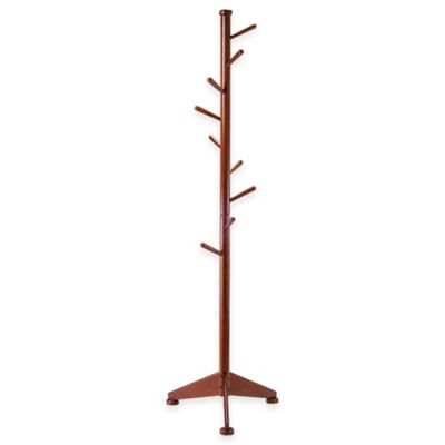 Winsome Trading Lily Coat Tree in Walnut