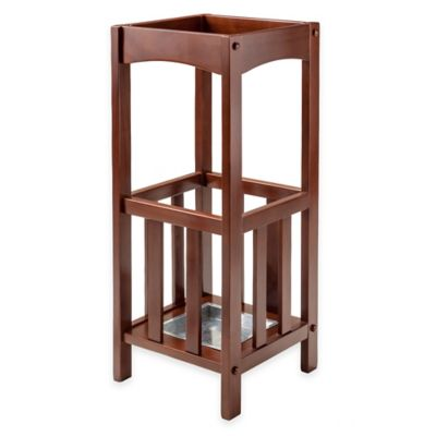 Walnut Umbrella Stand
