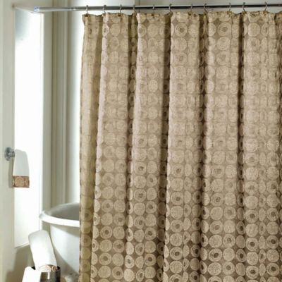 Avanti Galaxy Shower Curtain in Gold