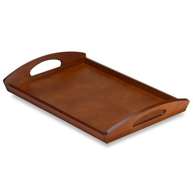 Cherry Finish Serving Tray