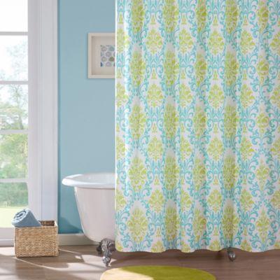 Mi Zone Katelyn Microfiber Shower Curtain
