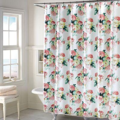 Rose Color Shower Curtains