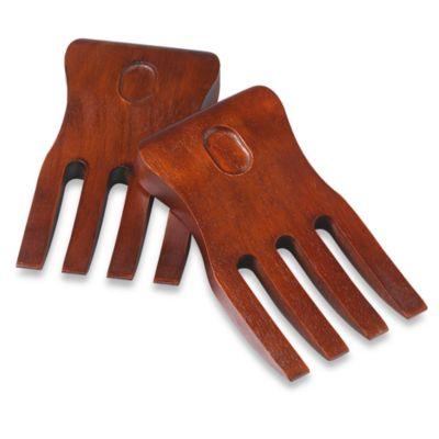Brown Salad Hands
