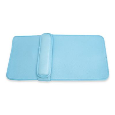 Ideaworks Home Spa Lumbar Bath Cushion in Blue