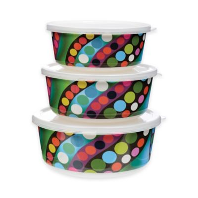 French Bull Bindi Storage Containers (Set of 3)