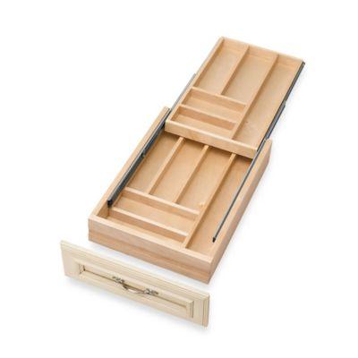 Rev-A-Shelf® Double-Tiered Medium Cutlery Drawer