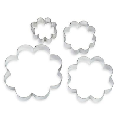 Wilton® 4-Piece Blossom Nesting Cookie Cutter Set